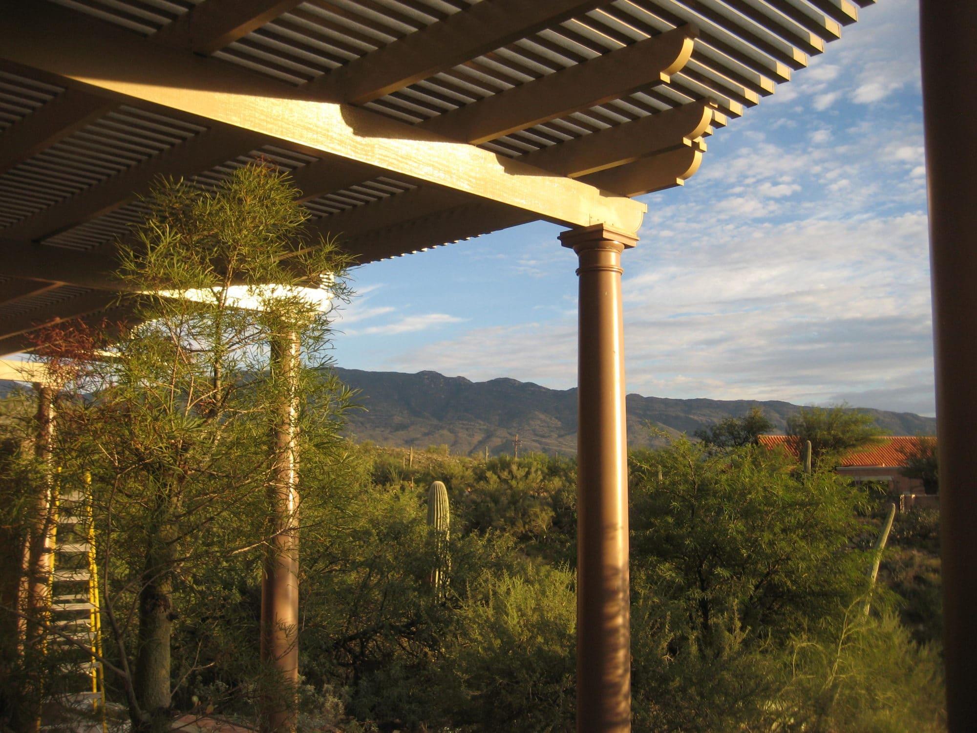 Redington Residence Canopies Amp Awnings Antech Corporation